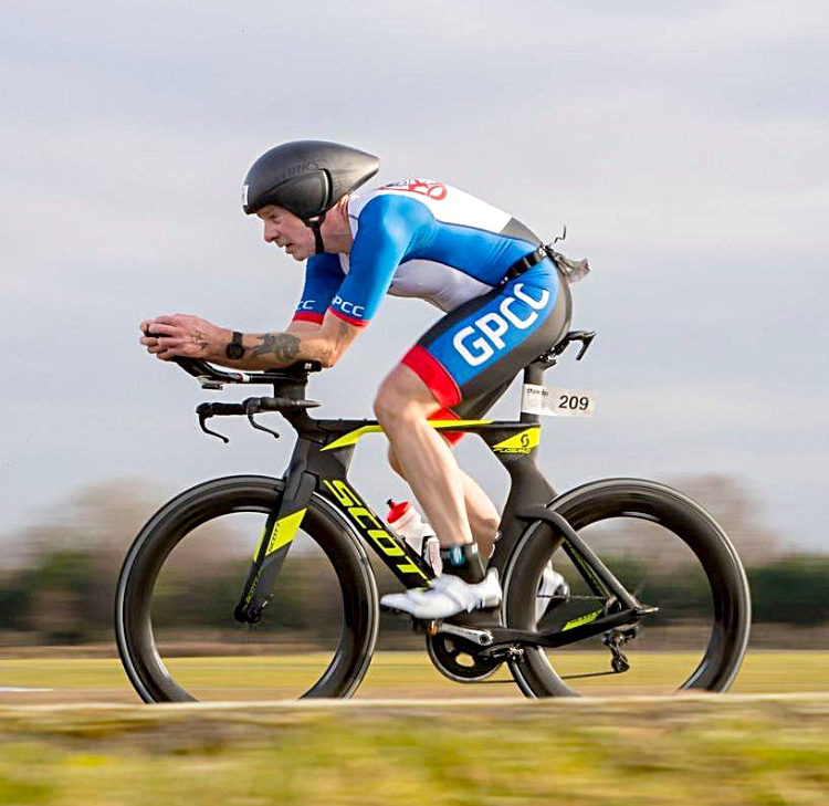 Greg Parker - Champion Time Trial Rider Nathan Willmington Sports Massage Therapy Weymouth Dorset