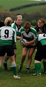 Fiona Freeman Goldsmith ladies rugby
