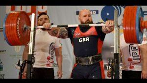 Iain MacConnachie GB powerlifter