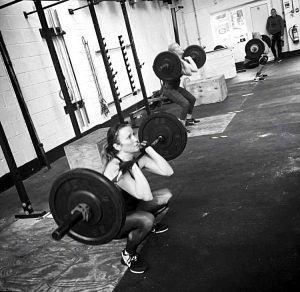 Sarah Moore Cross fit athlete